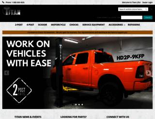 titanlifts.com screenshot