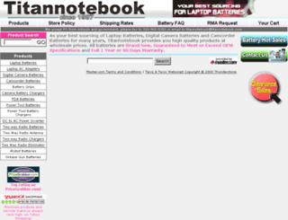titannotebook.master.com screenshot