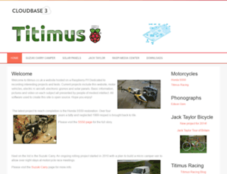 titimus.co.uk screenshot