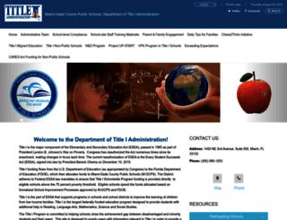 title1.dadeschools.net screenshot