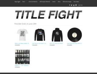 titlefight.limitedrun.com screenshot