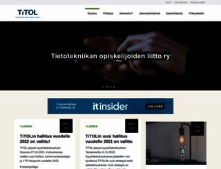titol.fi screenshot