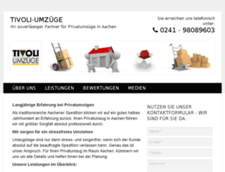 tivoli-umzuege.info screenshot