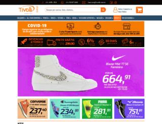 tivollisports.com.br screenshot