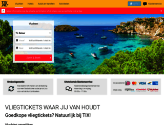 tix.nl screenshot