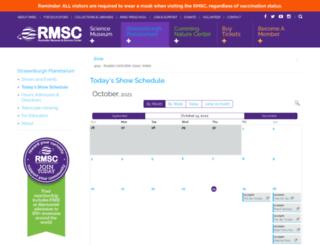 tix.rmsc.org screenshot