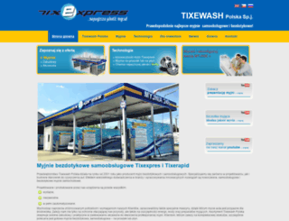 tixexpress.pl screenshot