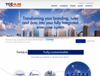 tixhub.com screenshot