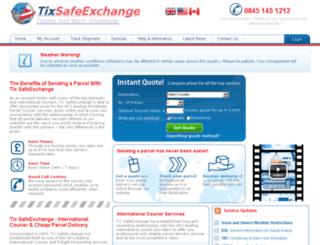 tixsafeexchange.com screenshot