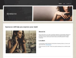 tiyanacoo.sitespawner.com screenshot