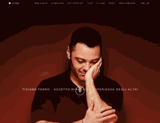 tizianoferro.com screenshot