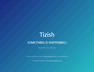 tizish.com screenshot