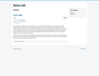 tizzo.net screenshot