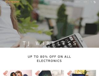 tj-wireless.com screenshot