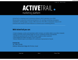 tja.activetrail.biz screenshot