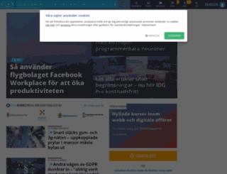 tjanster.idg.se screenshot