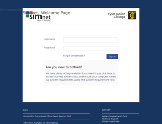 tjc.simnetonline.com screenshot