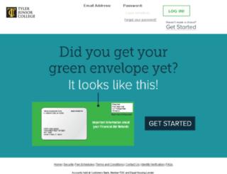 tjcdebitcard.higheroneaccount.com screenshot