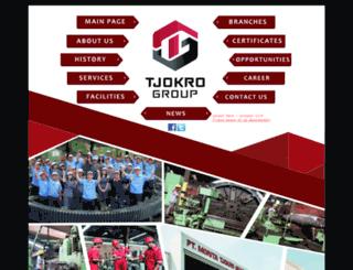 tjokrogroup.com screenshot