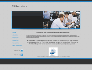 tjrecruiters.com screenshot