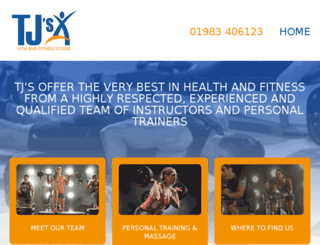 tjs-gym.co.uk screenshot
