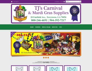 tjscarnival.com screenshot