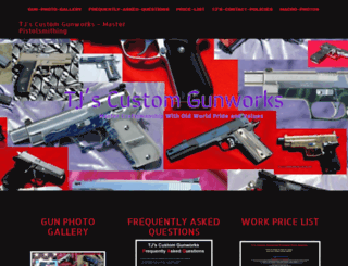 tjscustomgunworks.com screenshot
