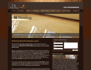 tk-flooring.com screenshot