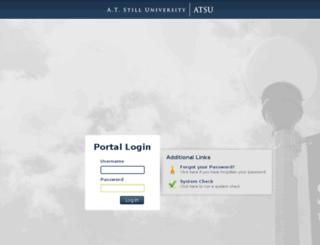 tk20.atsu.edu screenshot
