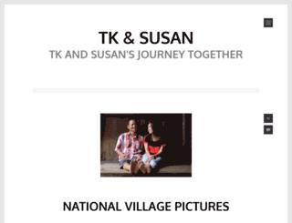 tkandsusan.wordpress.com screenshot