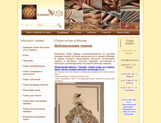 tkanimoskva.ru screenshot