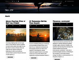 tkd-itf.org screenshot