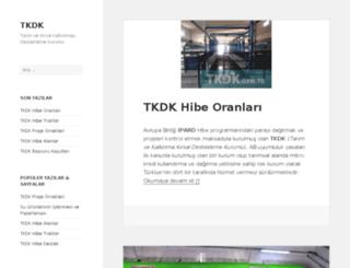 tkdk.gen.tr screenshot