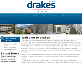 tkdrake.co.uk screenshot