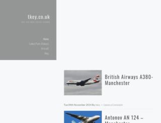 tkey.co.uk screenshot