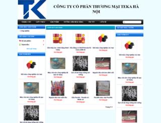 tkhanoi.gianhangvn.com screenshot