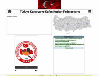 tkkkf.org screenshot