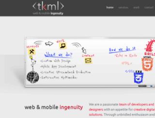tkmltech.com screenshot
