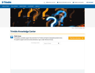 tknsc.trimble.com screenshot