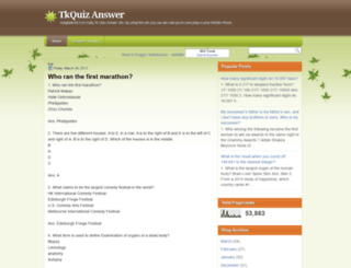 tkquiz.blogspot.com screenshot