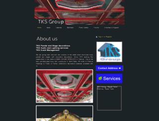 tksgroup.webs.com screenshot