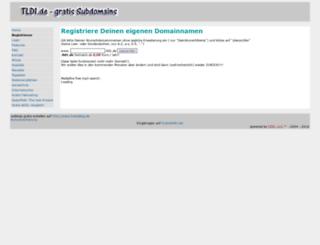 tld1.de screenshot