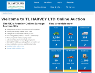 tlharvey.salvagemarket.co.uk screenshot