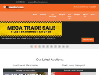 tlhauctioneers.com screenshot