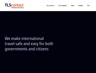 tlscontact.com screenshot