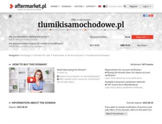 tlumikisamochodowe.pl screenshot