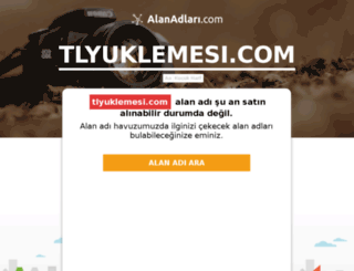tlyuklemesi.com screenshot