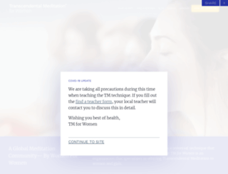 tm-women.org screenshot