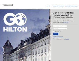 tm.hilton.com screenshot
