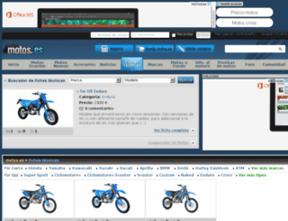 tm.motos.es screenshot